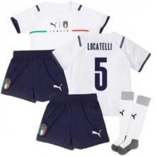 Детская четвертая форма Италии Локателли ЕВРО 2020-21