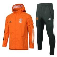 Серо-оранжевый костюм Манчестер Юнайтед 2021-2022