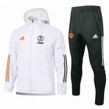 Бело-черный костюм Манчестер Юнайтед 2021-2022