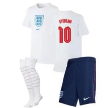 Детская домашняя форма Англии на ЕВРО 2020-21 Рахим Стерлинг