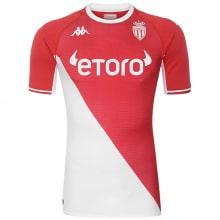 Домашняя игровая футболка Монако 2021-2022