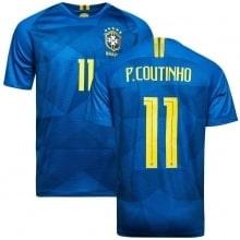 Футболка сборной Бразилии на ЧМ 2018 Филиппе Коутиньо номер 11