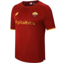 Домашняя аутентичная футболка Ромы 2021-2022