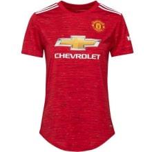 Женская домашняя футболка Манчестер Юнайтед 2020-2021