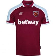 Комплект взрослой домашней формы Вест Хэм 2021-2022 футболка