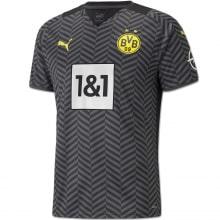 Гостевая аутентичная футболка Боруссии Дортмунд 2021-2022