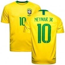 Футболка сборной Бразилии на ЧМ 2018 Неймар Джуниор