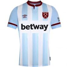 Гостевая игровая футболка Вест Хэм 2021-2022