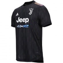 Гостевая аутентичная футболка Ювентуса 2021-2022
