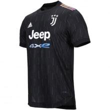 Комплект взрослой гостевой формы Ювентуса 2021-2022 футболка
