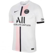 Гостевая аутентичная футболка ПСЖ 2021-2022