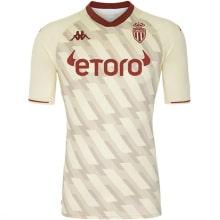 Третья игровая футболка Монако 2021-2022