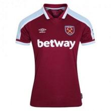 Домашняя женская футболка Вест Хэм 2021-2022