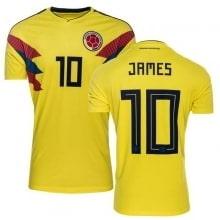 Домашняя футболка Колумбии на ЧМ 2018 Хамес Родригес