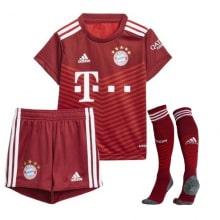 Комплект детской домашней формы Баварии 2021-2022