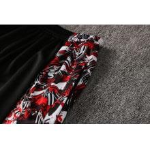 Красно-черный спортивный костюм Милан 2021-2022 штаны