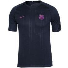 Черная тренировочная футболка Барселоны 2021-2022