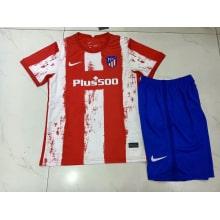 Детский комплект домашней формы Атлетико 2021-2022