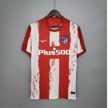 Домашняя игровая футболка Атлетико Мадрид 2021-2022