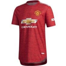 Домашняя аутентичная футболка Манчестер Юнайтед 2020-2021