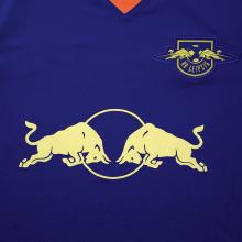 Комплект детской гостевой формы РБ Лейпциг 2020-2021 футболка титульный спонсор
