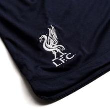 Комплект взрослой гостевой формы Ливерпуля 2019-2020 шорты герб клуба