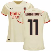 Гостевая футболка Милана 2021-2022 Златан Ибрагимович