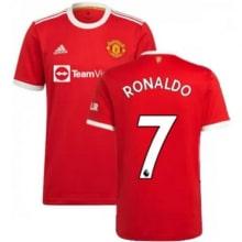 Домашняя игровая футболка Ман Юнайтед 2021-2022 Роналду