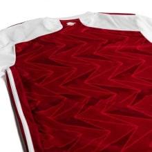 Домашняя форма Арсенала 2020-2021 c длинными рукавами футболка сзади