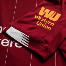 Домашняя футболка Ливерпуля 2019-2020 Мохаммед Салах рукав