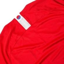 Красная домашняя футболка сборной Кореи на чемпионат мира 2018 сзади