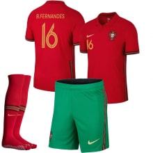Детская домашняя форма Португалии Бруно на ЕВРО 20-21