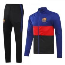 Черно-сине-гранатовый костюм Барселоны 2020-2021