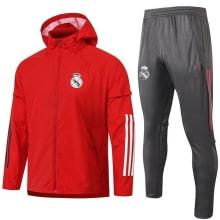 Красно-серый костюм Реал Мадрид 2020-2021