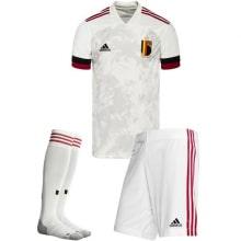 Детская гостевая форма Бельгии на Чемпионат Европы 2020-21