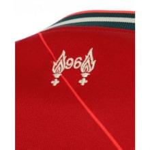 Домашняя футболка Ливерпуля 2021-2022 Мохаммед Салах логотип