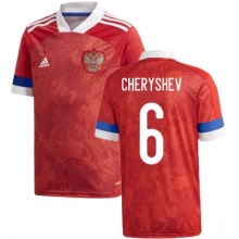 Домашняя футболка России Черышев ЕВРО 2020-2021