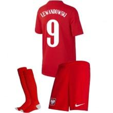 Детская гостевая форма Польши Левандовски на ЕВРО 2020-21