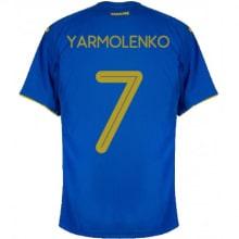 Гостевая футболка Украины Ярмоленко на ЕВРО 2020-21