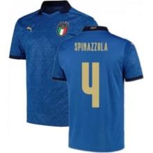 Домашняя футболка Италии Спинаццола ЕВРО 2020-21