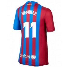 Домашняя футболка Барселоны 2021-2022 Дембеле