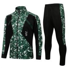 Черно-зеленый костюм Манчестер Сити 2021-2022