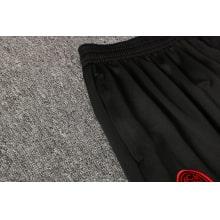 Красно-черный спортивный костюм Милан 2021-2022 штаны карман
