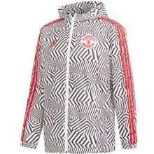 Куртка ветровка с капюшоном Манчестер Юнайтед 2021-2022