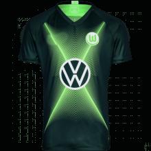 Домашняя игровая футболка Вольфсбурга 2019-2020