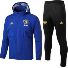 Сине-черный костюм Манчестер Юнайтед 2021-2022