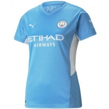 Женская домашняя футболка Манчестер Сити 2021-2022