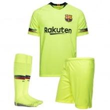 Комплект взрослой гостевой формы Барселоны 2018-2019 футболка шорты и гетры