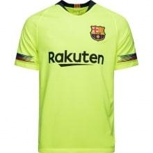 Гостевая игровая футболка Барселоны 2018-2019