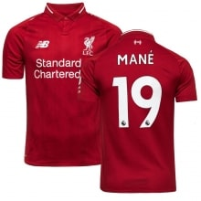 Домашняя футболка Ливерпуля 2018-2019 Садио Мане